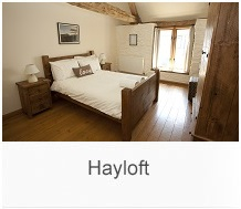 The Hayloft farm cottage