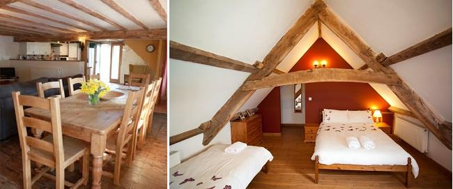 The Wagoner's cottage - Photo: (left) Fairyodd photography